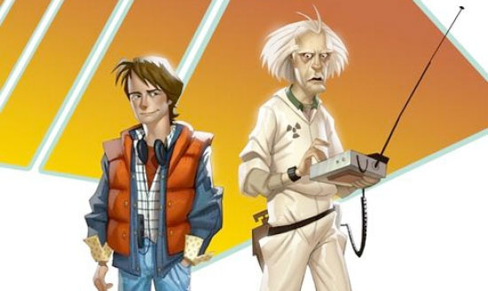 Dos videos del desarrollo de Back to the Future: The Game