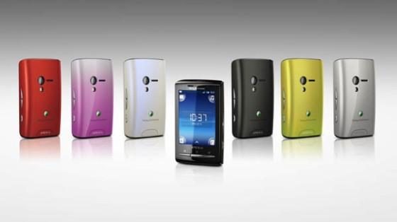 Celulares Xperia X10 mini y Xperia X10 mini pro