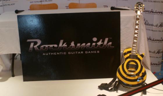 Ubisoft promociona Rocksmith con Jay de la Cueva