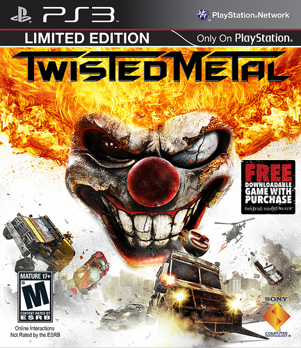 Twisted Metal para PS3 incluirá Twisted Metal Black