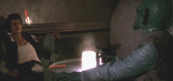 George Lucas dice que «Han Solo nunca disparó primero»