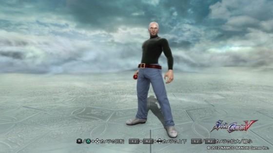 Steve Jobs pelea en Soulcalibur V