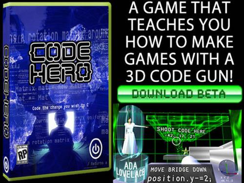 Code Hero, el título que te enseña a programar videojuegos