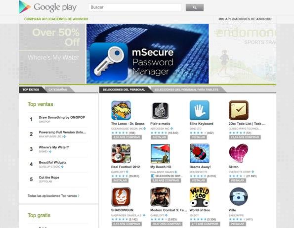 Google Play, la nueva apuesta de Google para el entretenimiento