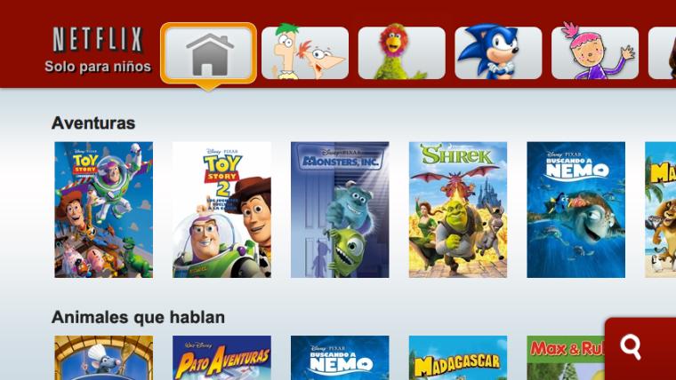 «Solo para Niños» de Netflix ahora disponible para PlayStation® 3