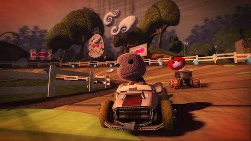 Ahora Sackboy estará sobre ruedas en el PS3