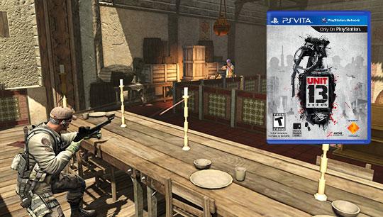 De los creadores de Socom, Unit 13 para PS Vita