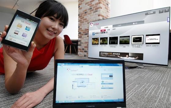 Se presenta oficialmente el servicio LG Cloud