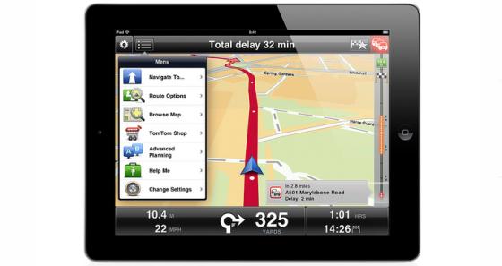 TomTom presenta la nueva app para iPhone y iPad