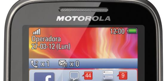El MOTOKEY Wi-Fi de Motorola está dedicado a facebook