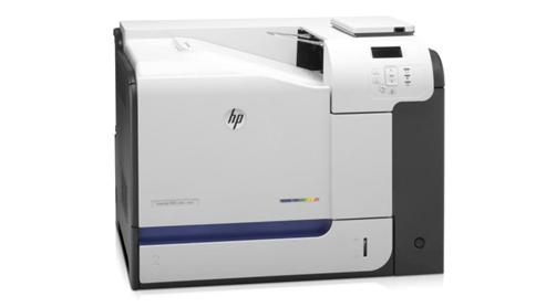 HP LaserJet Enterprise 500 se certifica con PANTONE