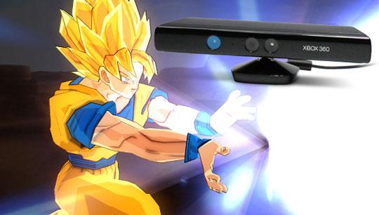 Dragon Ball Z en Kinect, vé practicando tu Kame-hame-ha
