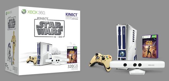 Star Wars Kinect llega en grande al Xbox 360