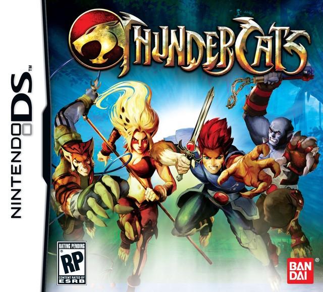 Namco anuncia juego de Thundercats para Nintendo DS