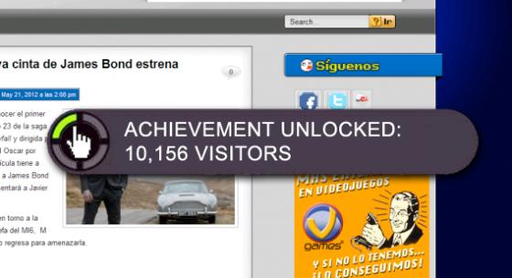Alcanzamos las 10,000 visitas únicas en la página web