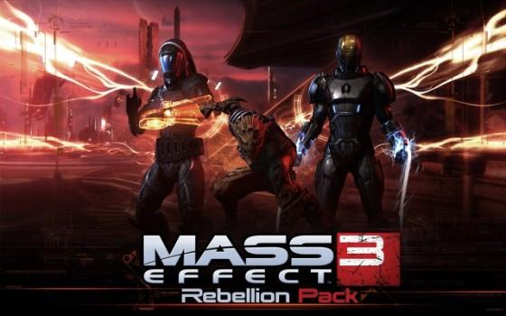 Bioware lanza Mass Effect 3: Rebellion Pack
