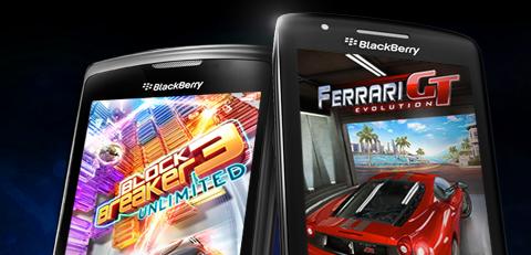 Gameloft anuncia catálogo de juegos para BlackBerry