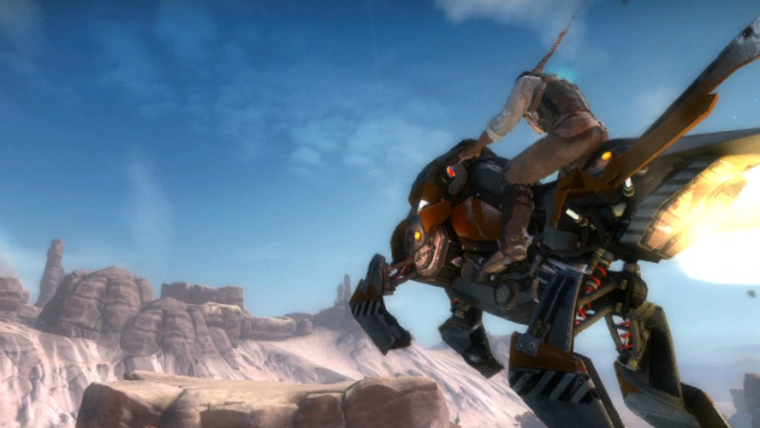 Starhawk: únete a épicas batallas en un combate intenso