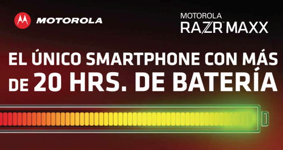 Motorola Mobility y Telcel presentan RAZR MAXX en México