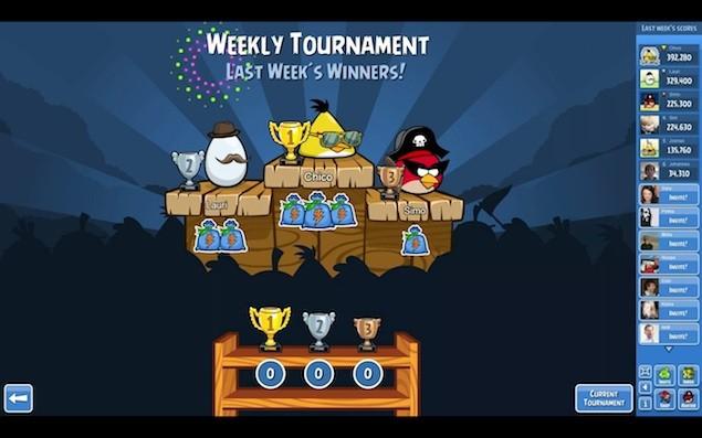 Angry Birds Friends llegará a Facebook
