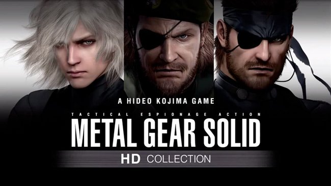 METAL GEAR SOLID HD Collection, llega el 12 de junio
