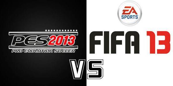 PES Vs. FIFA 13: Inicia la batalla