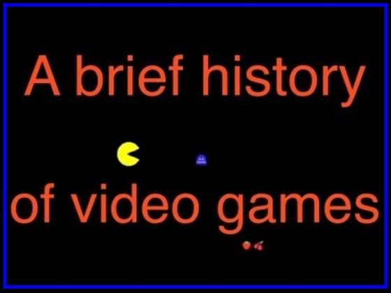 Video: Breve historia de los videojuegos