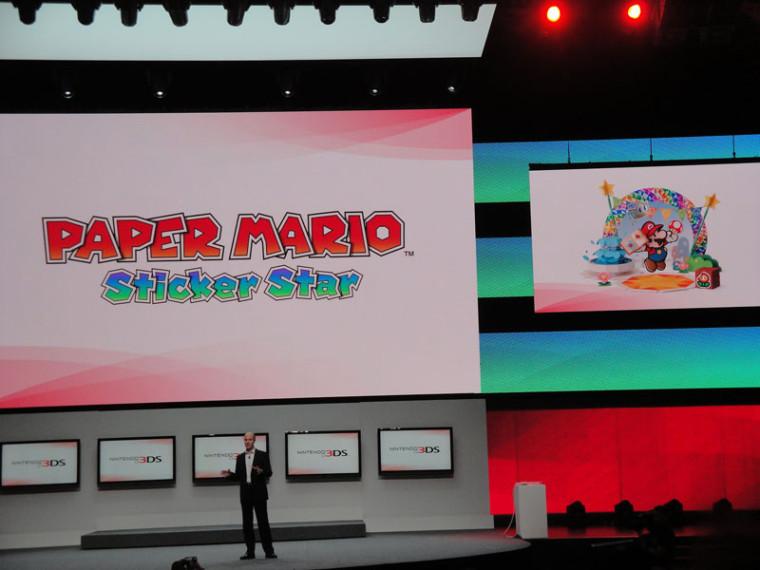 Paper Mario Sticker Star: La increíble colección de estampas de Mario