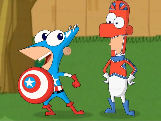 Phineas y Ferb tendrán un cross-over con el universo Marvel
