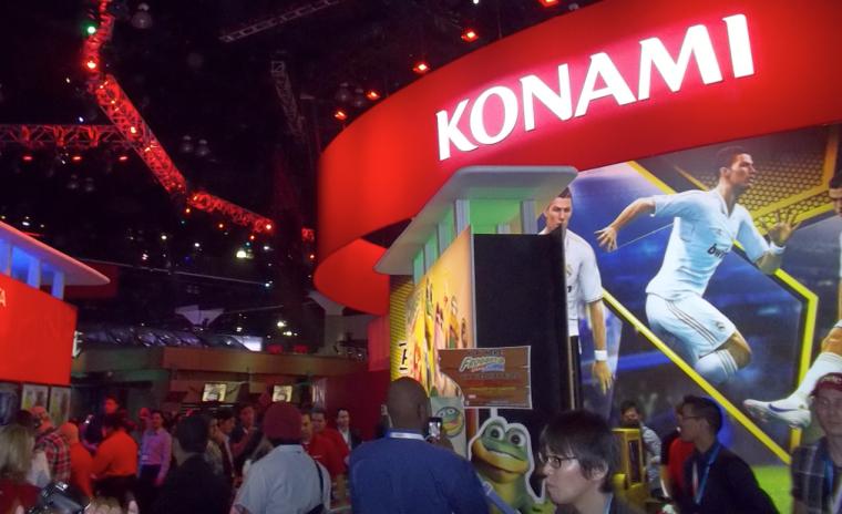 Premios a Konami durante la expo E3 2012