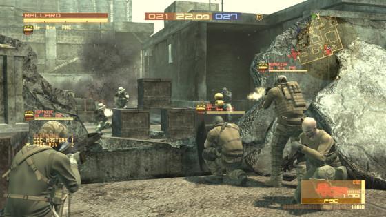 Metal Gear Online se despide tras cuatro años
