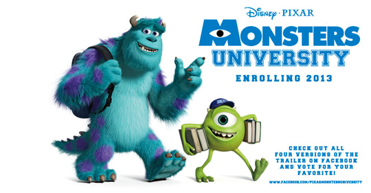 Pixar presenta trailers de la precuela de Monsters, Inc.