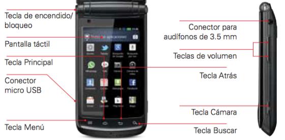 MOTOSMART Flip de Motorola llega a México