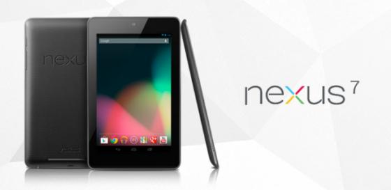 Google presentó su nueva tablet, la Nexus 7