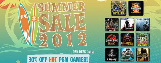 Recibe el verano con las ofertas de PlayStation Store