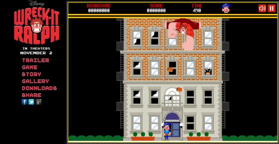 Demo del videojuego de Wreck-it Ralph ¡Gratis!
