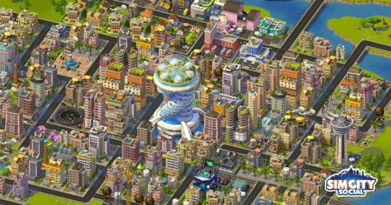 SimCity Social toma su lugar en facebook