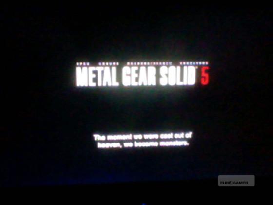 Hideo Kojima afirma que las imágenes de Metal Gear Solid 5 son falsas
