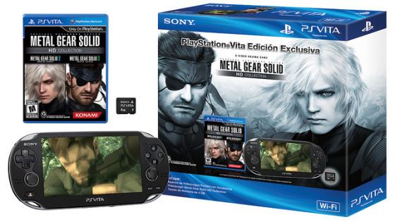 Sony anuncia una edición especial del PS Vita de Metal Gear Solid