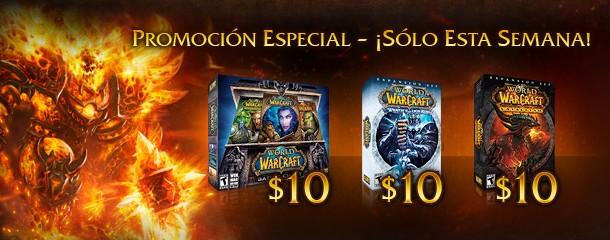 World of Warcraft en promoción especial