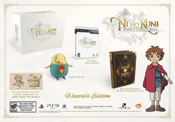 La edición especial de Ni no Kuni: Wrath of the White Witch agotada en Estados Unidos