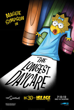 Primer vistazo al corto 'The Longest Day Care' protagonizado por Maggie Simpson