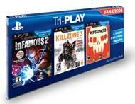 Los Tri-PLAY Game Packs: Por primera vez, lo mejor de PlayStation 3 reunido a un precio único