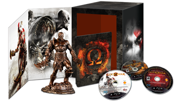 Revive las épicas batallas de Kratos con God Of War Omega Collection