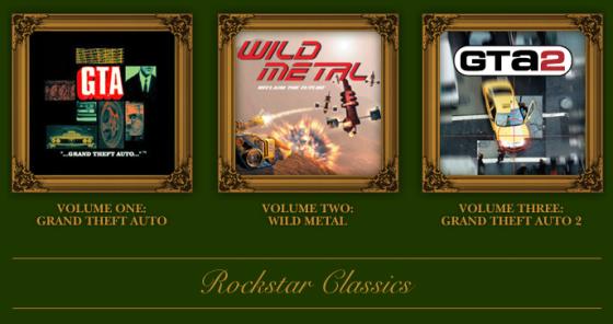 Rockstar regala Grand Theft Auto 1 y 2