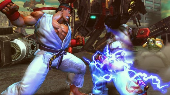 Pac-Man y Mega Man no estarán en Street Fighter X Tekken de Xbox 360