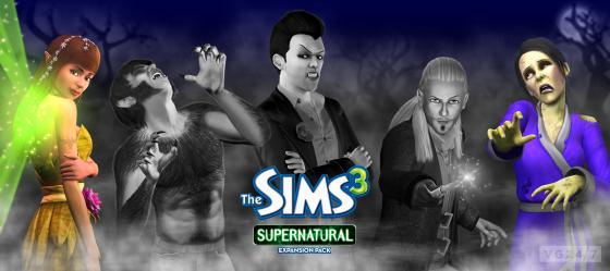 Imágenes y gameplay de la expansión 'Supernatural' de The Sims 3
