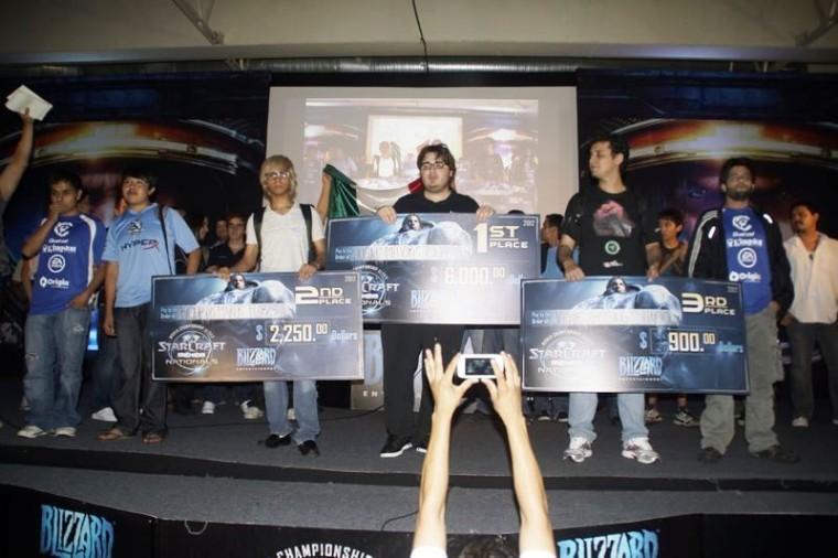Mexicanos en Campeonato Continental Starcraft II