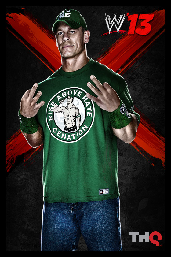 THQ revela la lista de luchadores para WWE'13