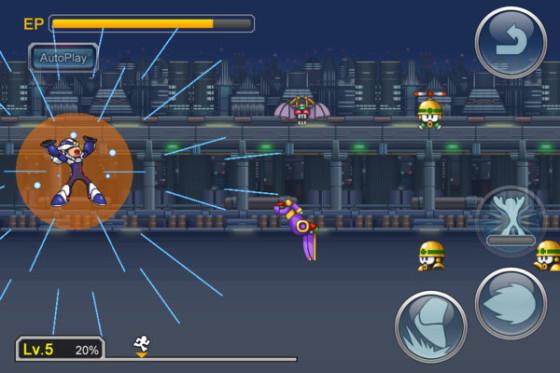 Capcom revela nuevo juego de MegaMan para dispositivos iOS